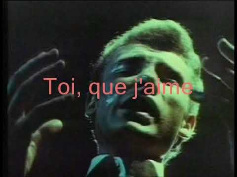 Johnny Hallyday - Pas cette chanson (+ Paroles) (yanjerdu26)