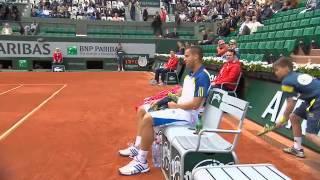 Mikhail Youzhny Racquet Smash