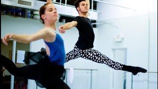 Jorge Barani of the Kentucky Ballet Theatre. Video by Mark  Cornelison | Staff