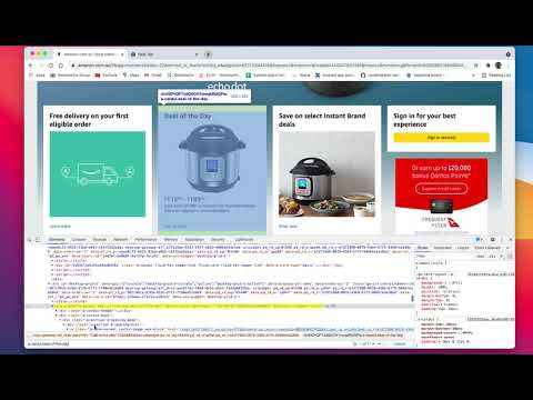 Create A CSS Element Locator Using Class Name Via Chrome Developer Tools