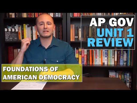 AP Gov Unit 1 Exam Review CoronaReview