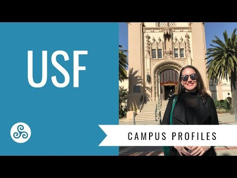 University of San Francisco USF - campus visit with American College Strategies