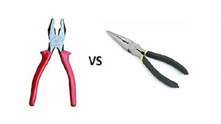 nose and combination plier//difference b/w combination and nose pliers//basic of combination pliers