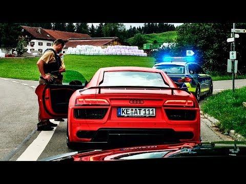 POLIZEI stoppt uns im R8 | Daniel Abt
