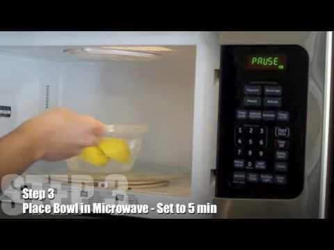 How To Clean A Microwave Youtube