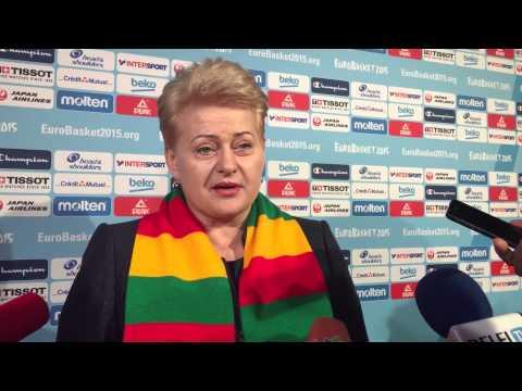 Prezidentė Dalia Grybauskaitė Lilyje