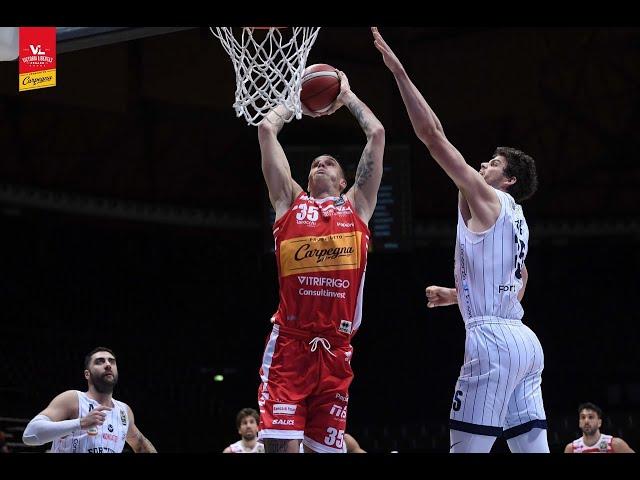 [Highlights] Fortitudo Lavoropiù Bologna - Carpegna Prosciutto Basket Pesaro: 77-79