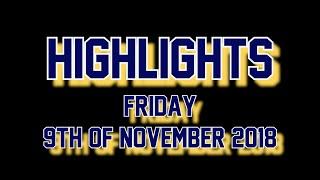 [HIGHLIGHTS] Devils vs Zoetermeer Panters I 9 November 2018