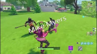 FORTNITE MIKE MYERS | Fortnite BR Playground