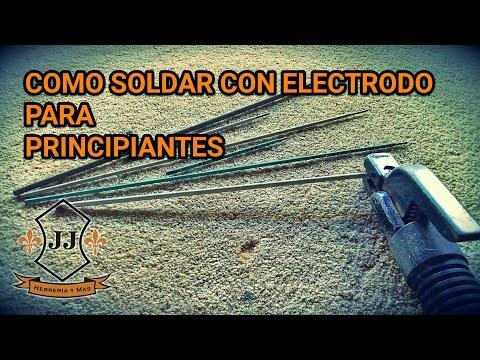 Como Soldar Con Electrodo Revestido Para PRINCIPIANTES
