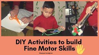 DIY Activities to Build Fine Motor Skills - Part II