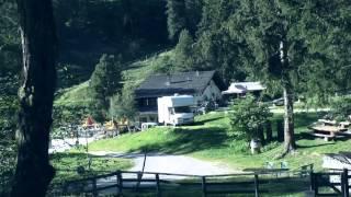 Le Prilett campsite, Saint Luc, Switzerland ⛺🚐