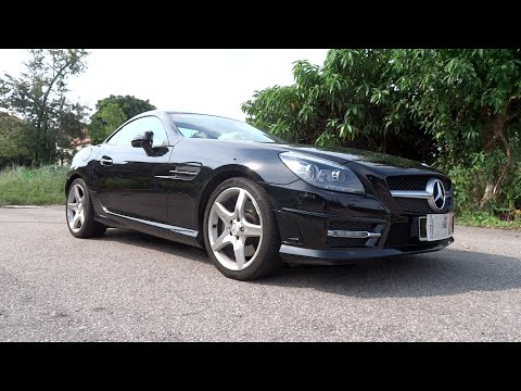 2012 Mercedes-Benz SLK 200 AMG Sport Start-Up, Full Vehicle Tour, and Test Drive
