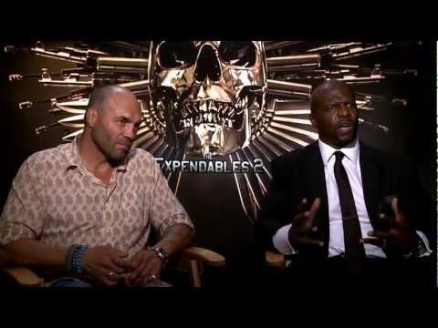 Randy Couture - Terry Crews Interview/Entrevista (The Expendables 2/Los Indestructibles/Mercenarios)