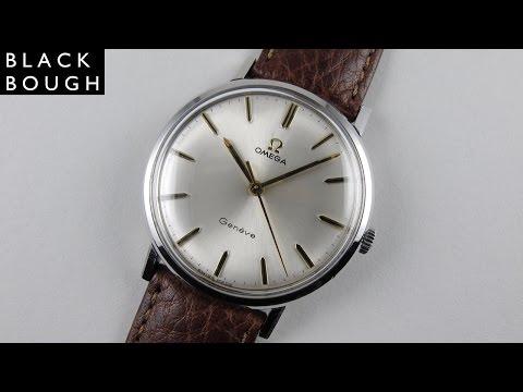 Steel Omega Genève Ref. 131.019 vintage wristwatch, circa 1968