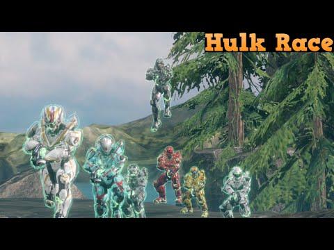 Halo 4 Custom game : Hulk Race - YouTube  Halo 4 Custom g...