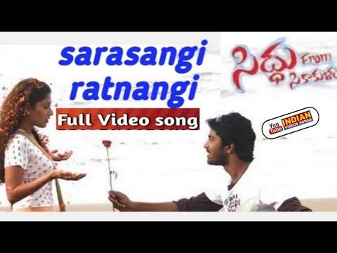 Download Siddu from srikakulam Sarasangi Rathanangi full video song HD