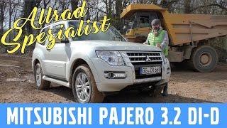 2017 Mitsubishi Pajero 3.2 DI-D (190 PS) -  Test, Review und Fahrbericht / Testdrive