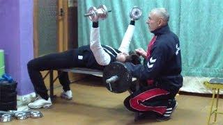 Упражнения для грудных мышц женщинам(У нас Вы можете заказать индивидуальную программу тренировок по интернету: http://atletizm.com.ua/personalnyj-trener/uslugi ..., 2014-01-22T21:20:02.000Z)