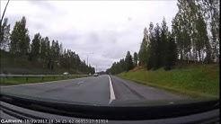 Kuopion moottoritiellä brittiläisittäin 18.09.17