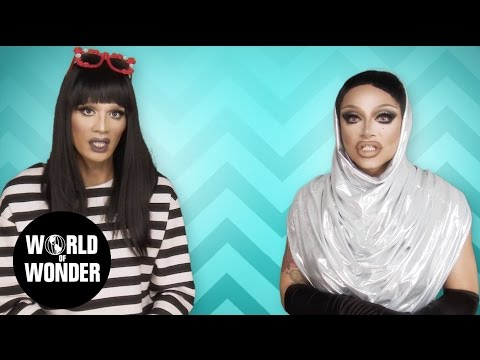 FASHION PHOTO RUVIEW: All Stars 2 Ep 3 with Raja & Raven - RuPaul's Drag Race: Future of Drag