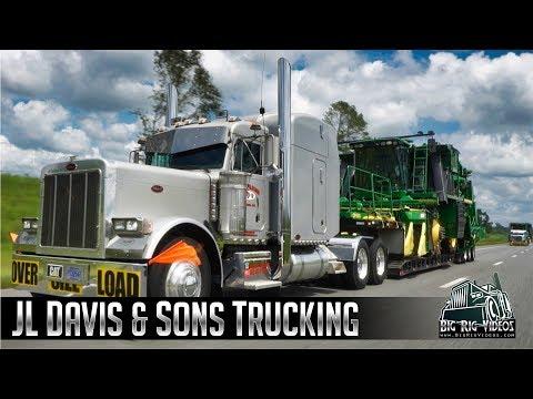 JL Davis & Sons Trucking - Rolling CB Interview