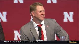Scott Frost Talks 2018 Recruit Class