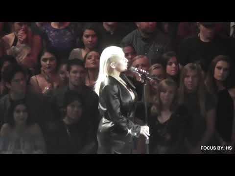 Christina Aguilera - Whitney Houston Tribute (Audience View)