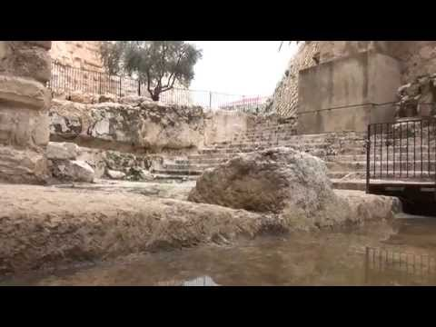 Tower of David Museum- the new excavations, Jerusalem. חפירות הקישל'ה והתעלה, מוזיאון מגדל דוד.