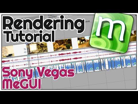 Wie rendere ich? - How To MeGUI + Sony Vegas (Tutorial, Behind The Scenes)
