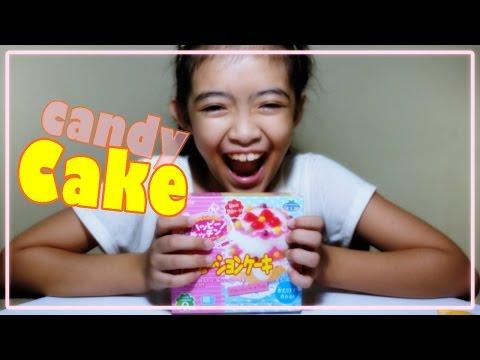 วิธีทํา ของเล่นญี่ปุ่น เค้ก ของเล่นญี่ปุ่นกินได้ Japanese DIY candy cake kit