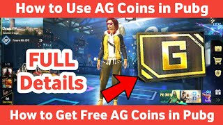 How to Use AG Coin in Pubg Mobile | Get Free AG Coin in Pubg Mobile | Pubg AG Coin | Creative Ashish