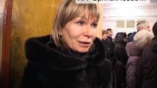 Прощание с Борисом Сулеймановым. Новозыбков, 14 февраля 2017 г.
