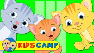 Three Little Kittens | And Many More Nursery Rhymes for Children PART 1 by KidsCamp