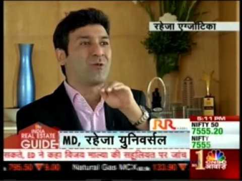 Raheja Exotica Madh on CNBC Awaaz Real Estate India Guide.