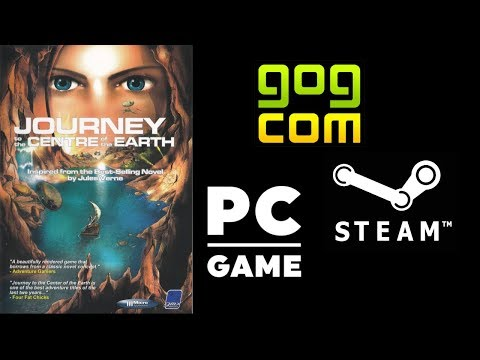 Journey to the Center of the Earth Gameplay Walkthroug Point & Click NO COMMENTARY