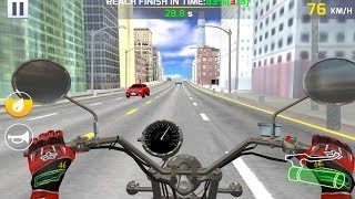 Moto Highway Rider (by TerranDroid) Android Gameplay [HD]