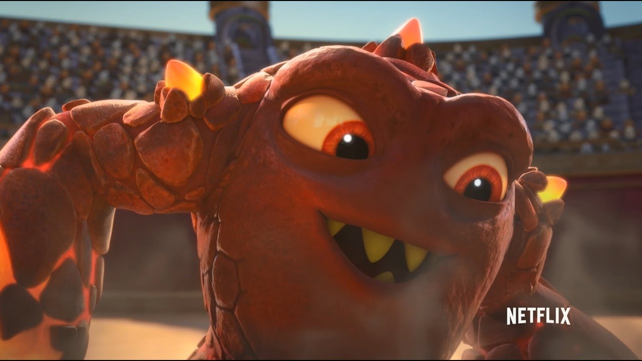 Skylanders Academy Clip Eruptor You Re On Fire Youtube