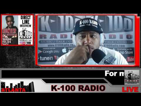 DRECT LINE INTERVIEW with HUNTER 6 LETTERZ on K-100 Radio