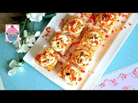 Petit Fours Mal Anders Saftiger Mohrenkuchen Mit Zitronenfrosting I
