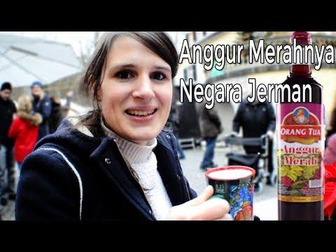 Vlog Bareng Bule Coba Anggur merah  | Christmas Market Jerman