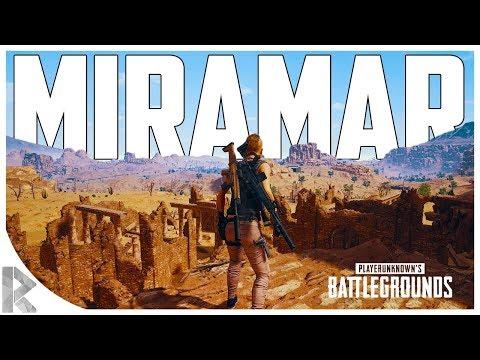 NEW PUBG DESERT MAP! DESERT MAP! - New weapons, vehicles etc! - Battlegrounds Miramar Gameplay PUBG