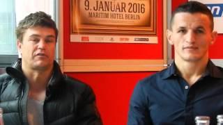 Boxen  Robin Krasniqi vs.  Cagri Ermis 9 01 2016 Berlin