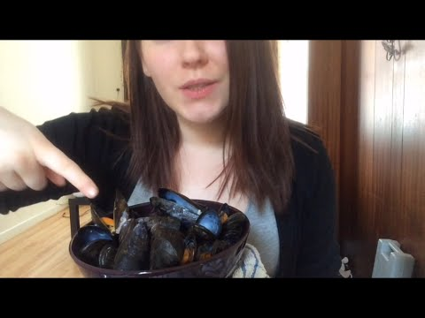 Mussels ~ ASMR Relaxing Eating Sounds