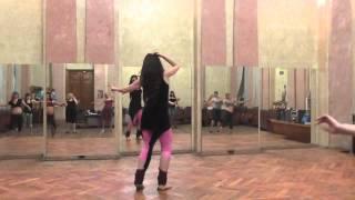 Фрагмент урока. Школа египетского танца Натальи Нестеренко