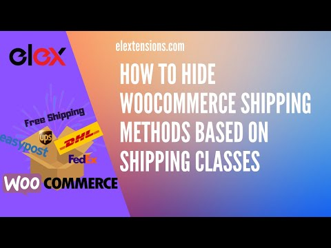 How to Hide WooCommerce Shipping Methods based on Shipping Classes thumbnail