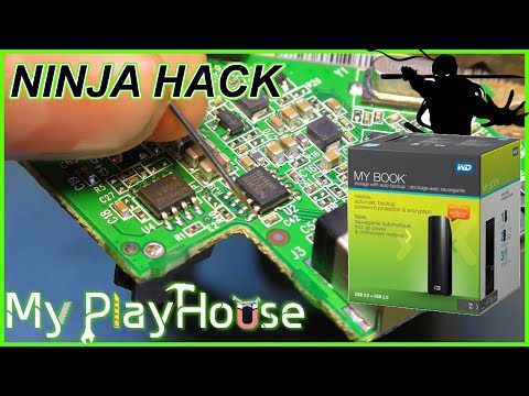 WD My Book Ninja Hack - Let It Work With Any Disk - 622