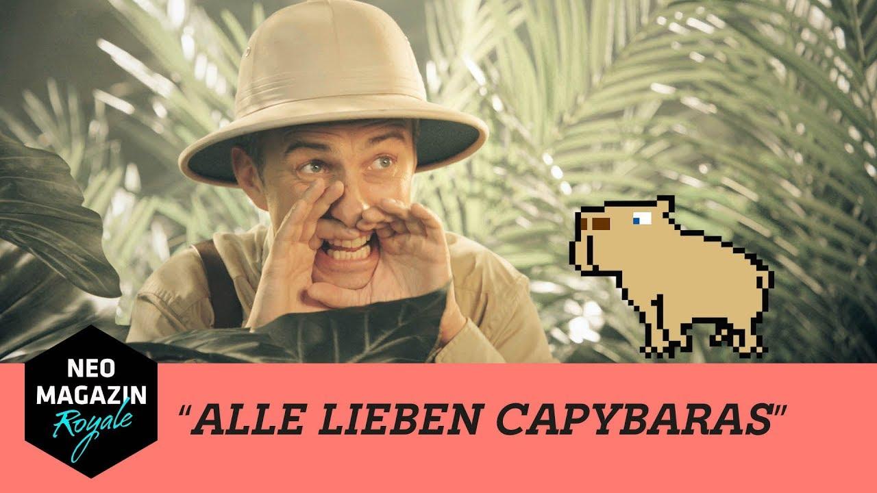 /PRODUCER, COMPOSER: Jan Böhmermann - Alle lieben Capybaras [Neo Magazin Royale]