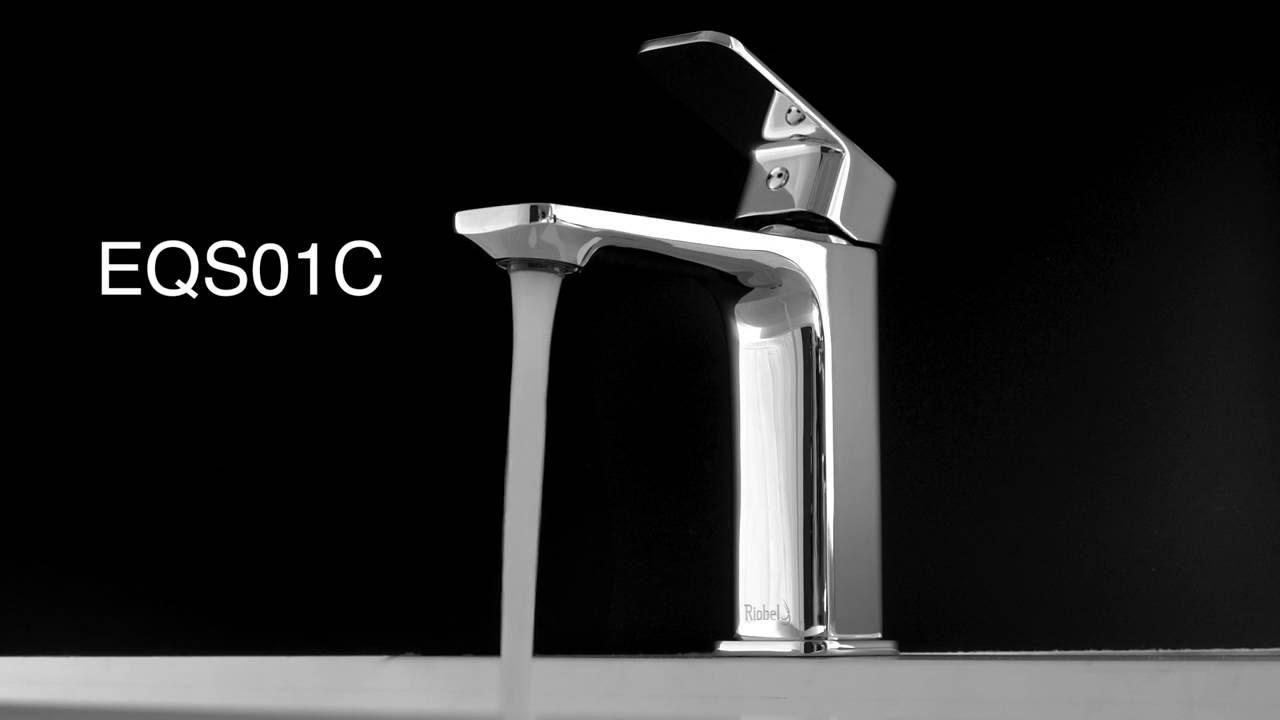 Riobel Equinox single hole faucet / robinet monotrou Equinox EQS01C ...