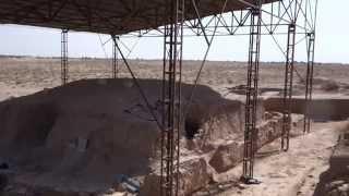 ウズベキスタン・カラテパの発掘調査1